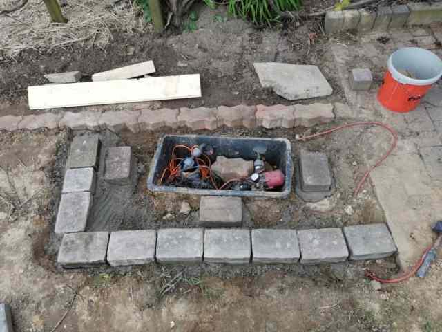 Brunnenstube selber bauen