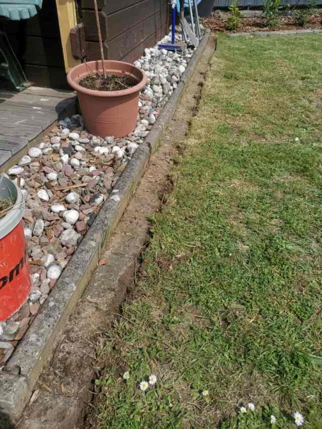 Garten für Mähroboter vorbereiten