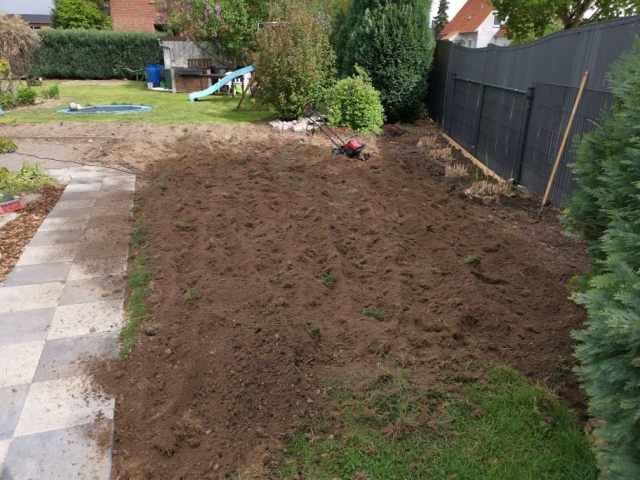 Rasen umgraben