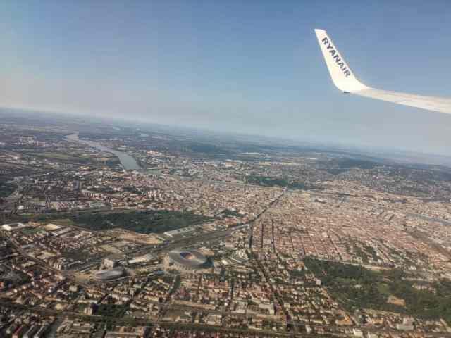 Budapest Überflug