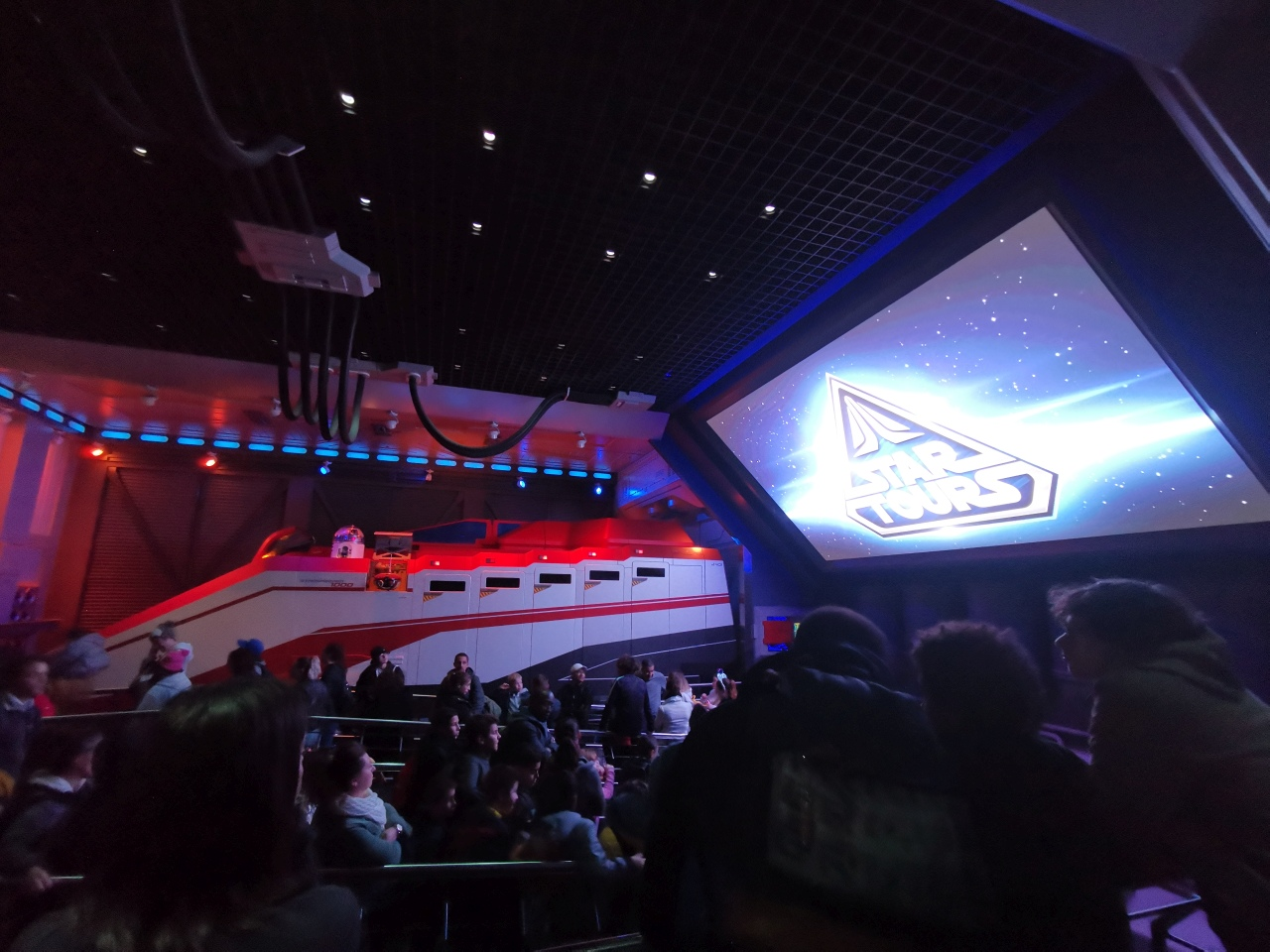 Star Tours Disneyland