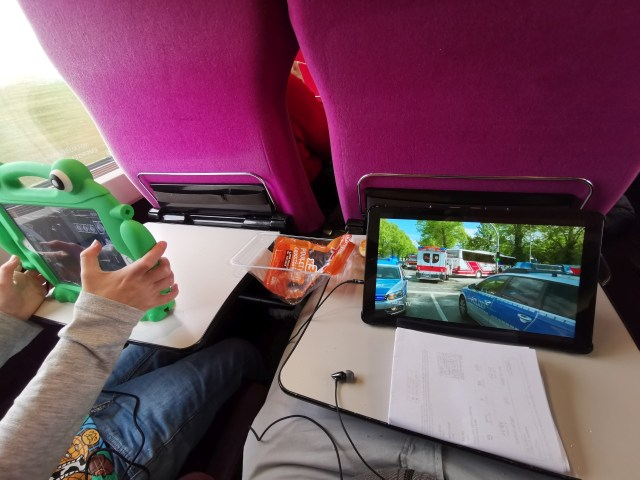 Thalys von Paris nach Köln