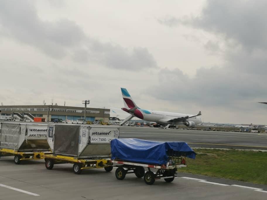 Flughafen-Rundfahrt Frankfurt