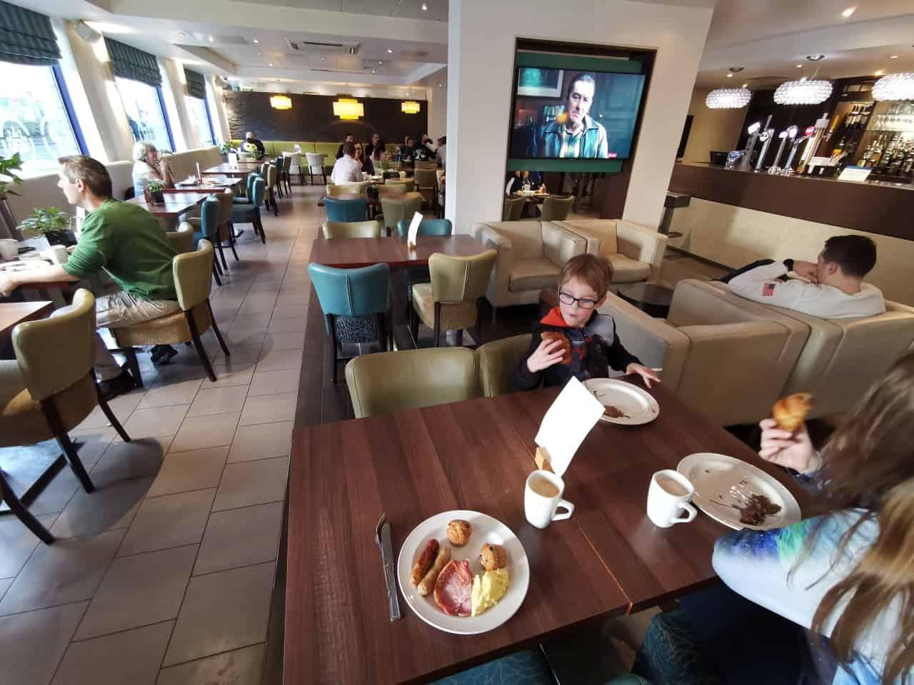Frühstück Holiday Inn
