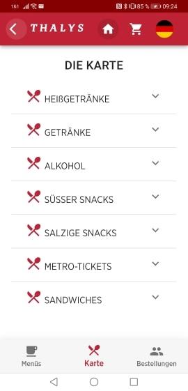 Thalys Boardrestaurant