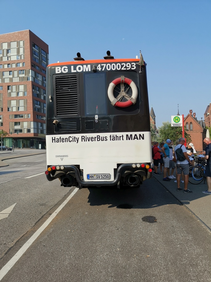 Hamburg Riverbus