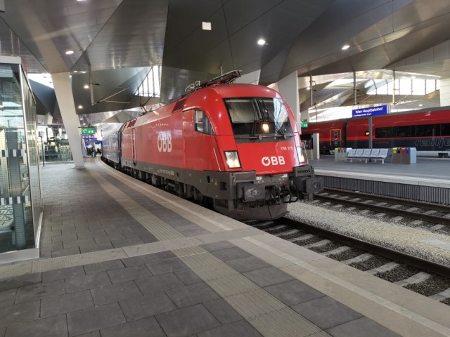Nightjet 457 Wien