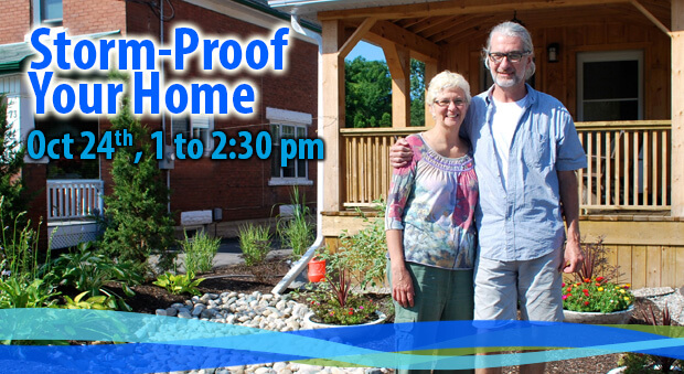 Storm-Proof Your Home: Oct 24, 1 to 2:30 pm