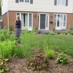 Lori's rain garden project