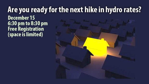 Are you ready for the next hike in hydro rates?