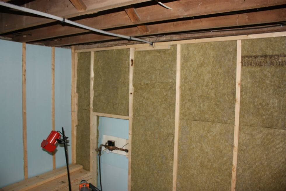 How to insulate your basement reep green solutions for Basement wall insulation blanket