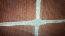 insulation hole in brick