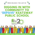 Digging in with Community to 'Depave' Keatsway Public School | News Release