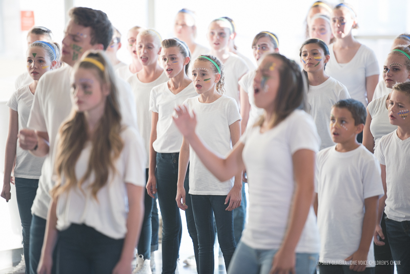 """Rise"" Music Video with One Voice Children's Choir - behind the scene images!"