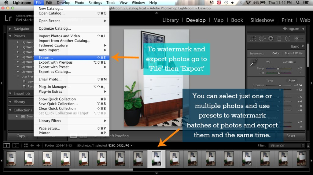 How to use Adobe Lightroom to Edit Photos and Grow Your Business 6
