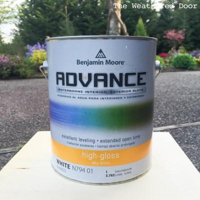 ben moore advance paint WD-1