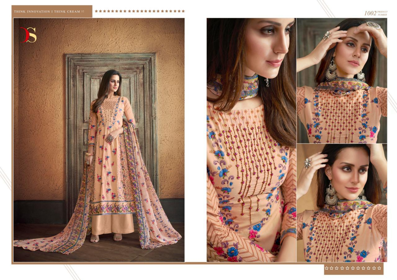 a258b696af ATTRACTION VOL 3 BY DEEPSY SUITS PURE COTTON PRINTED HANDWORK SALWAR ...