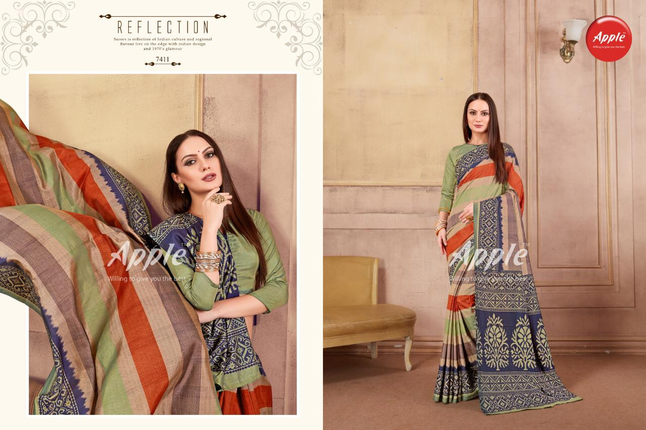 5e4d5b3d70 DHAKAI SILK VOL 2 BY APPLE SANA SILK PRINTED SAREE - Reewaz ...