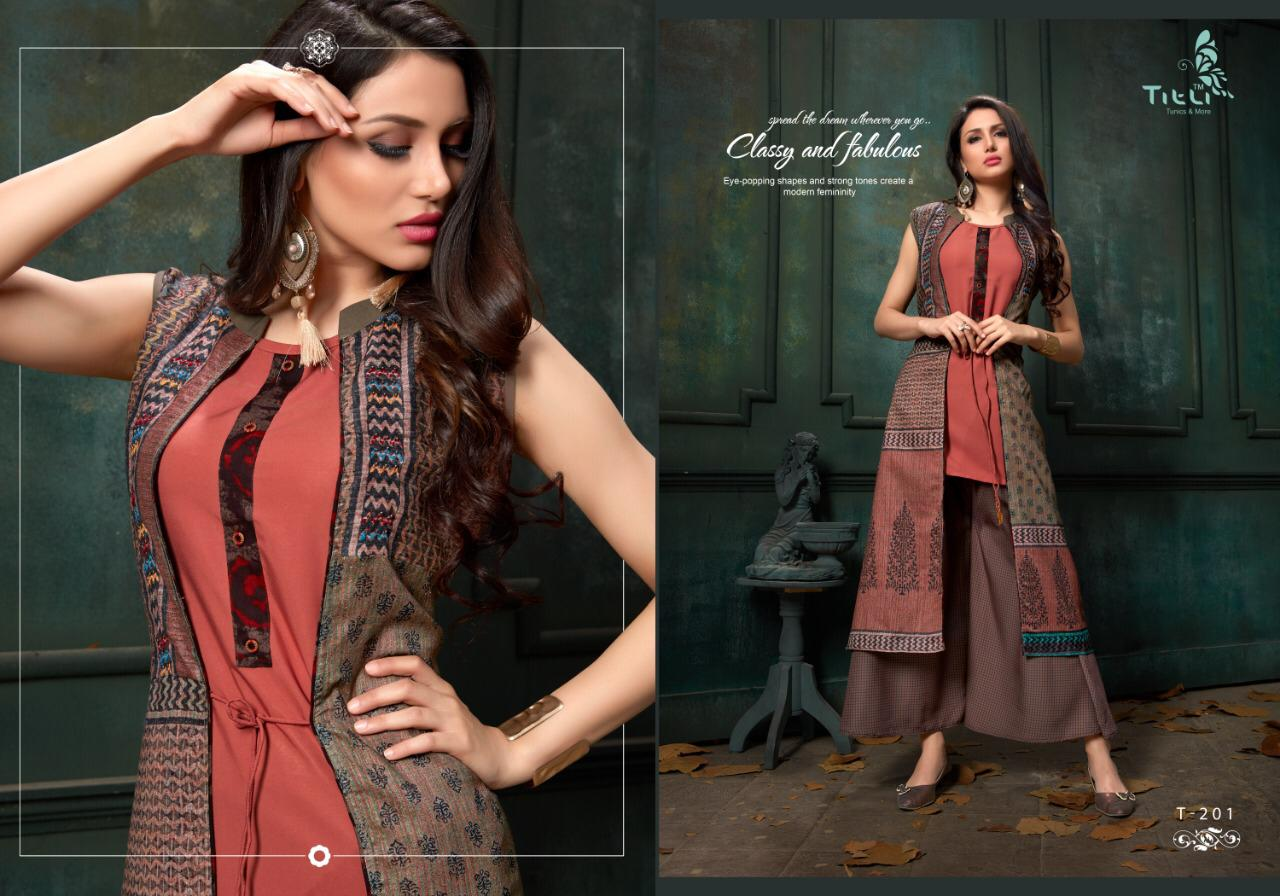0dc01fb900 TITLI PRESENTS STARDOM VOL 2 LONG DESIGNER ETHNIC KURTIS WHOLESALE ...