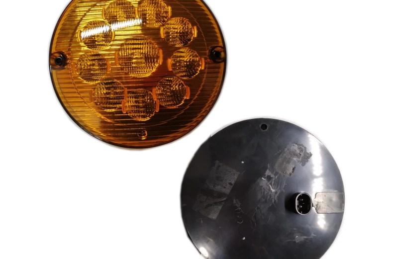 PLAFON 24V LED AMBAR 6″ 6010