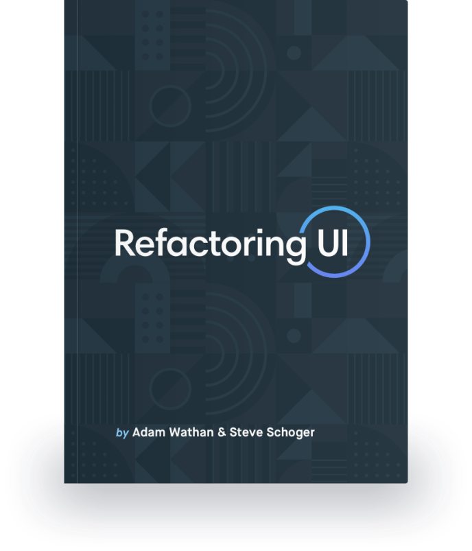 Refactoring UI book cover