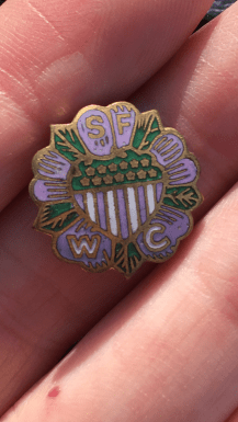 the mystery pin