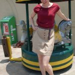 I could be an airline hostess in the 60′s…