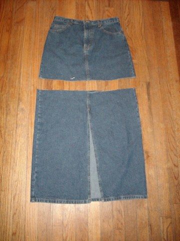 A Denim Skirt (Why didn't I have one of these already???) 3