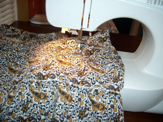 Day 28:  Pretty in Paisley Dress 4