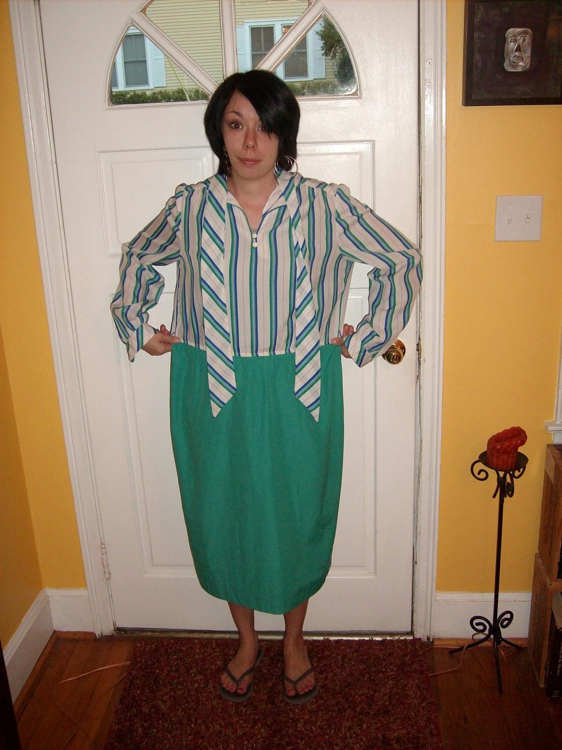 Day 30:  Stenographer Dress 1
