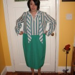Day 30:  Stenographer Dress