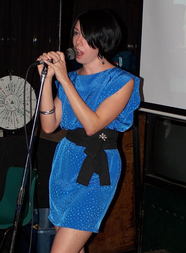 Day 63: Almost Dusk Dress: A Frumpy to Fab Refashion 3