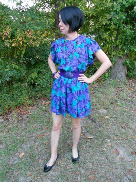 Day 77:  Jungle Love Dress 8