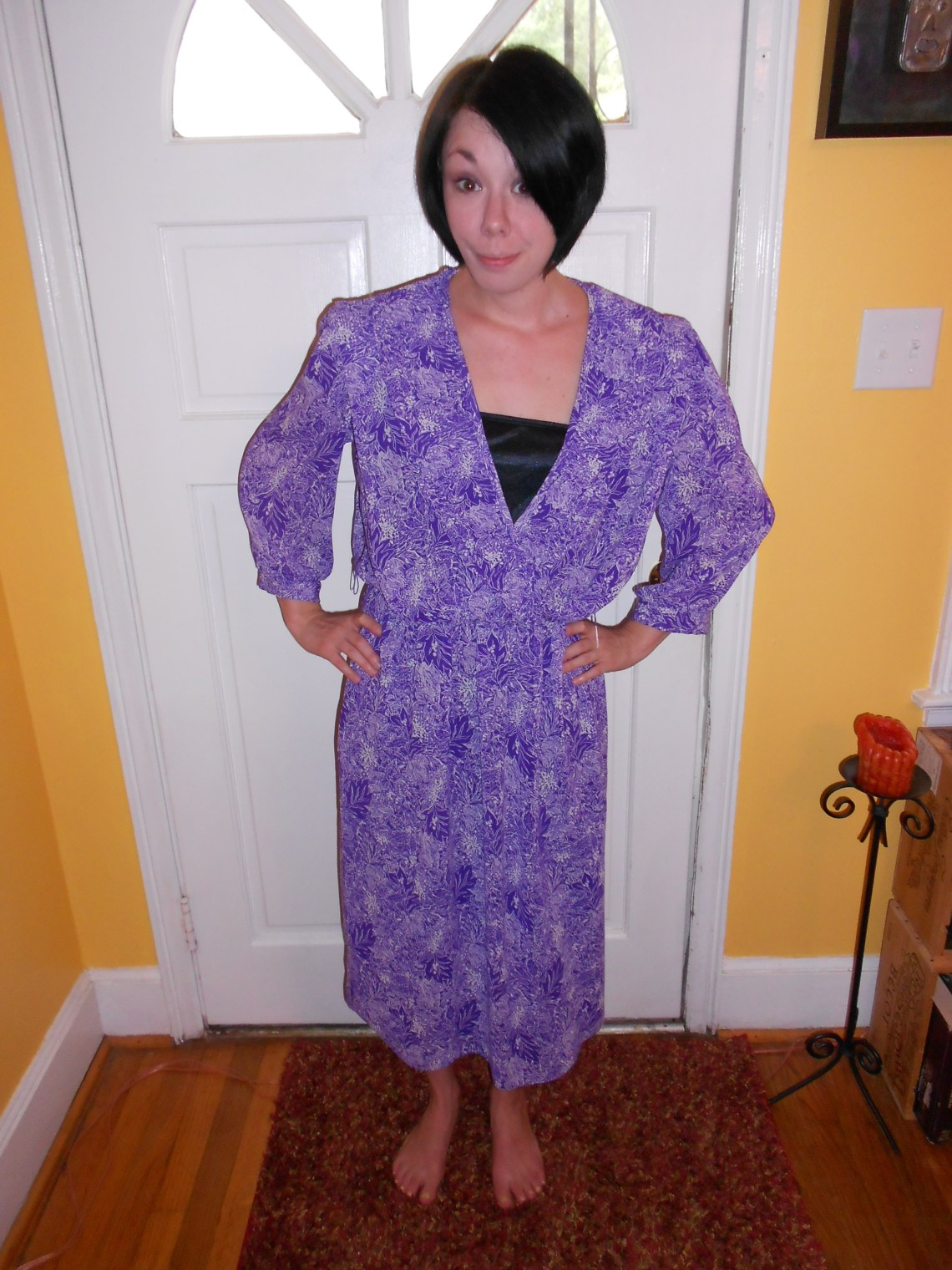 Day 81:  Purple Rainforest Dress 1