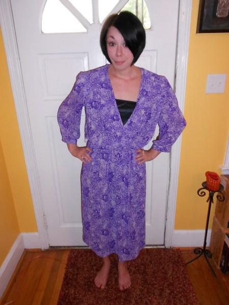 Day 81:  Purple Rainforest Dress 2