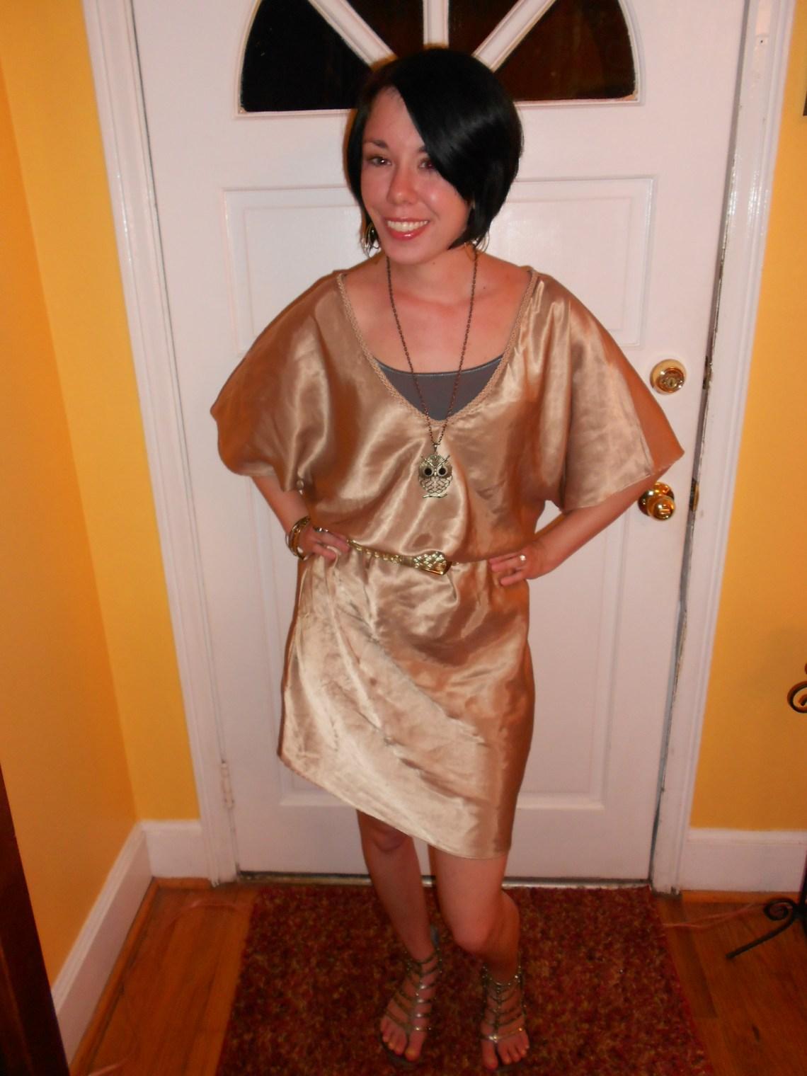 Day 82:  Bacchus Dress 1