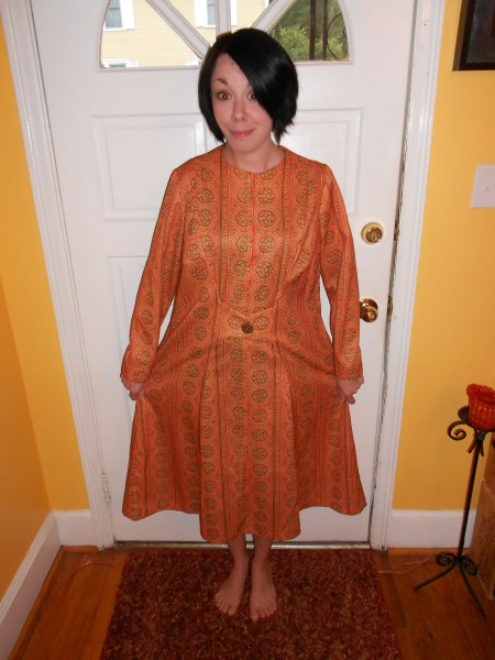 Day 83: Orange you Glad it's Fall? Dress 2