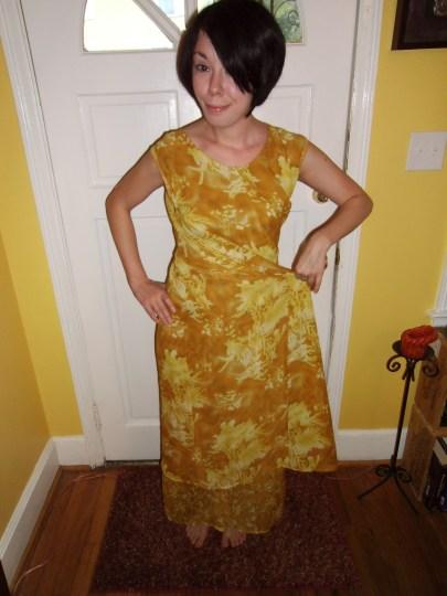 Day 64: Marigold Dress & The Nana Giveaway Winner! 4