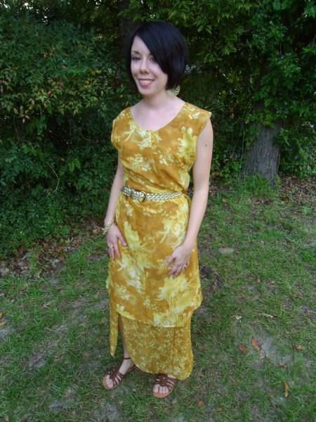 Day 64: Marigold Dress & The Nana Giveaway Winner! 5