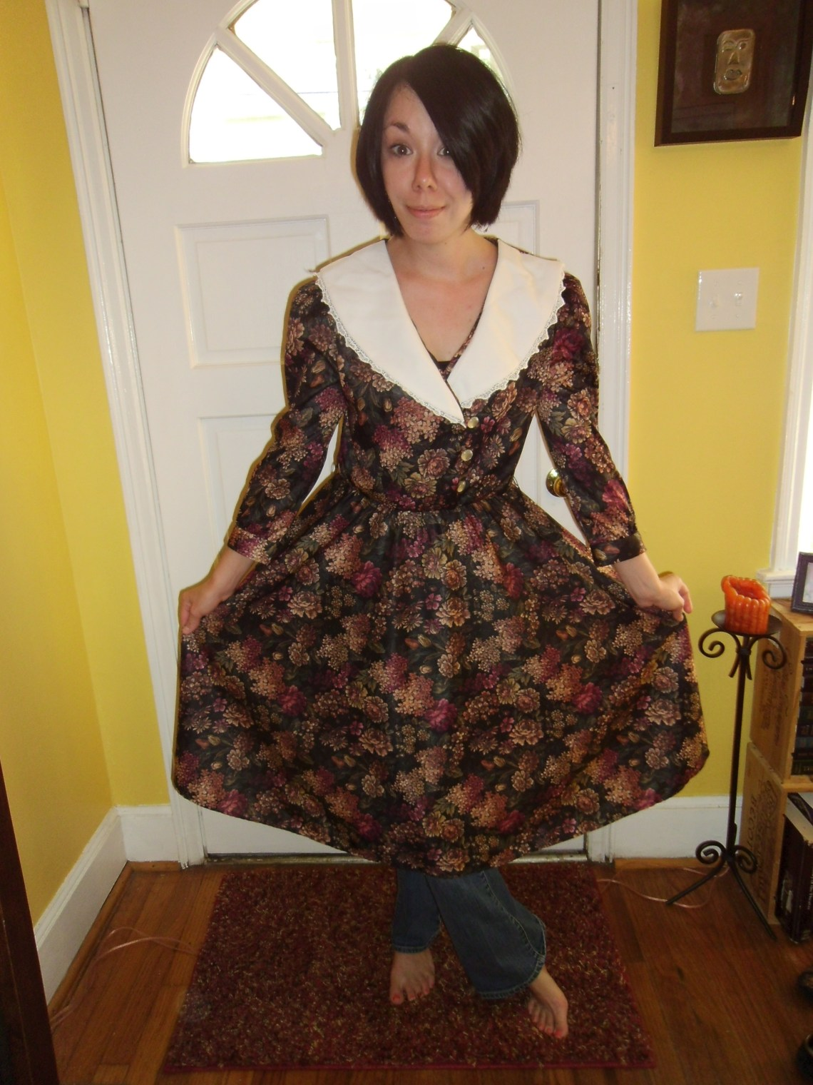 Day 95:  Apple Orchard Dress 1