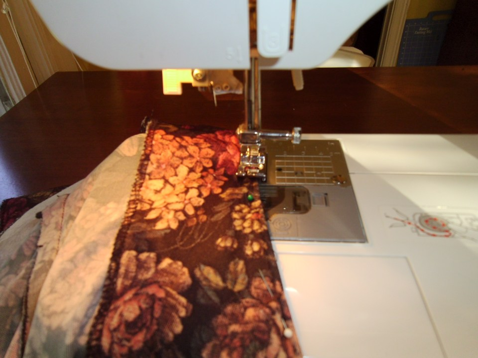 Day 95:  Apple Orchard Frumpy Collared Dress Refashion 4