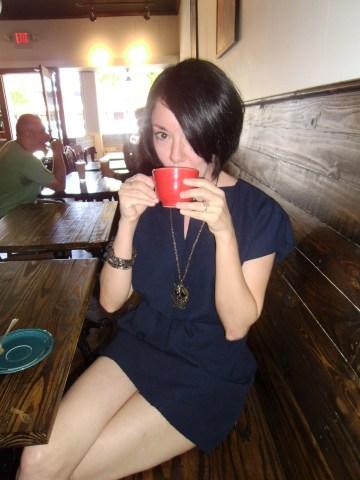 Day 96:  Coffee Date Dress 6