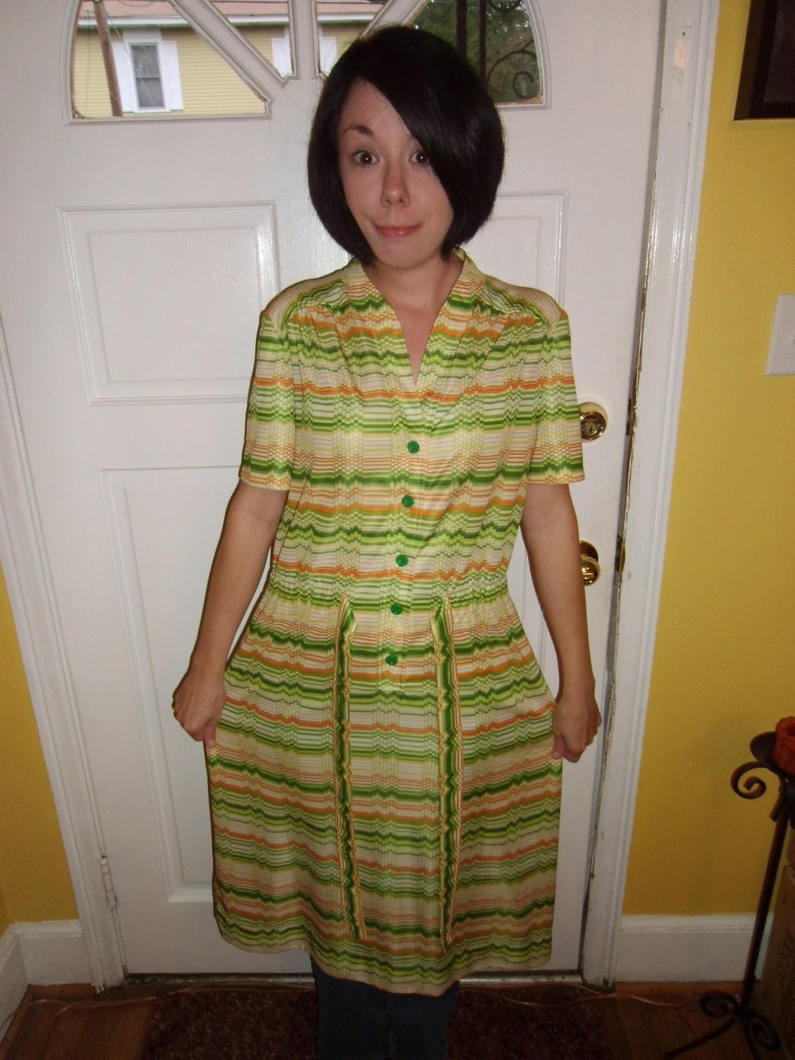 Day 113:  Citrus Grove Dress 1