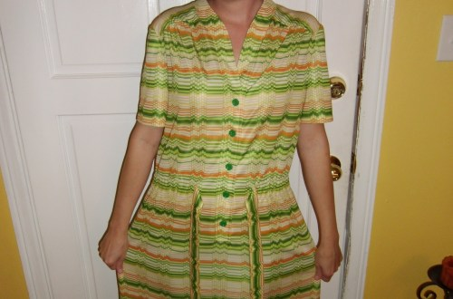 Day 113:  Citrus Grove Dress 7