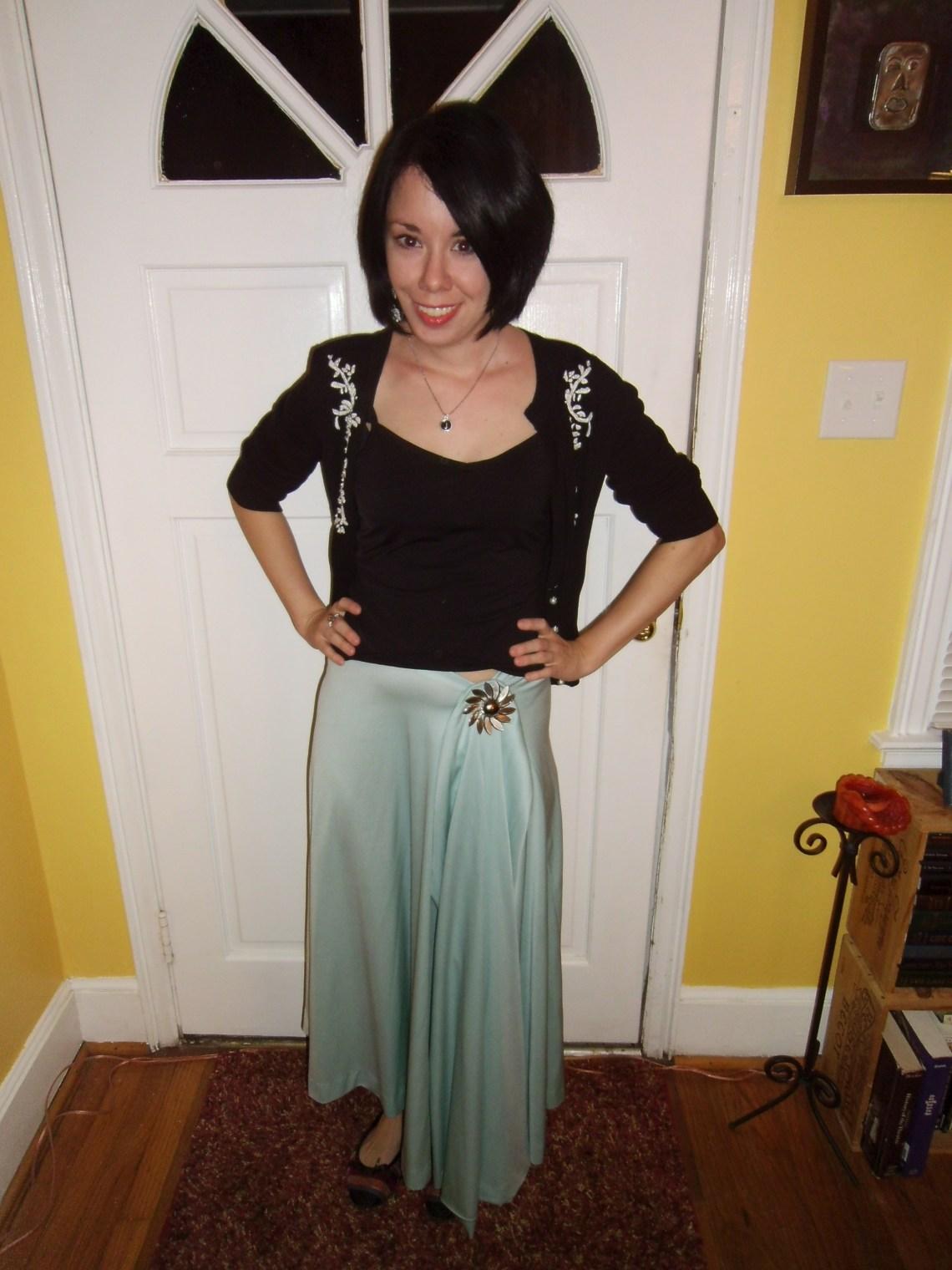 Day 118:  Fortunyless Skirt 1