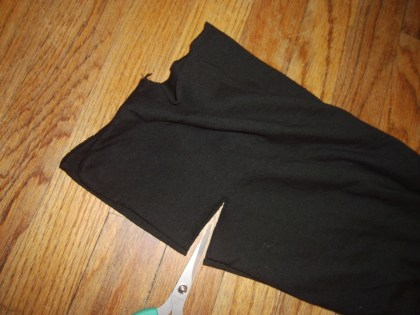 Day 126:  Plastic Letters Dress 6