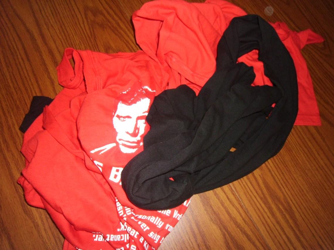 Day 129:  Scrap Busting T-Shirt Bangles 1