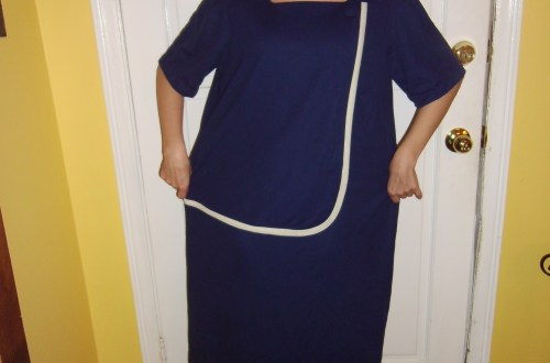 Day 139:  Feeling Blue Dress 18
