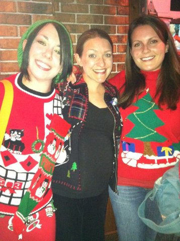Day 162:  Ugly Christmas Sweater Time! 3