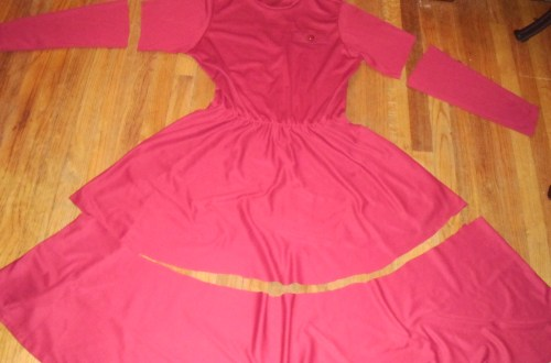 Day 177: Cranberry Sauce Dress 4